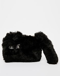 Enlarge New Look Furry Cat Purse