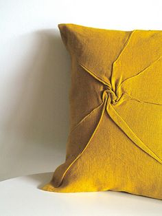 pillow slip - golden by Yorktown Road