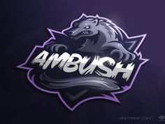 Ambush mascot logo by Marko Berovic
