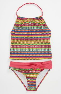Jantzen Two Piece Swimsuit (Big Girls) available at #Nordstrom