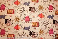 RARE-Japanese-Vision-Of-KEITH-HARING-To-Ring-1984-Fabric-Mickey-Poster-Print