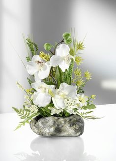 Vase, Home Decor, Orchids, Plants, Flowers, Decoration Home, Room Decor, Vases, Home Interior Design