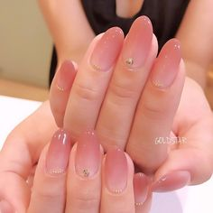 ネイル ネイル in 2020 Stylish Nails, Trendy Nails, Cute Nails, Soft Nails, Kawaii Nails, Modern Nails, Oval Nails, Minimalist Nails, Best Acrylic Nails