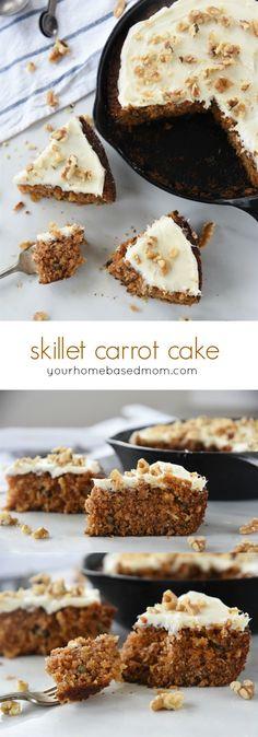 Skillet Carrot Cake