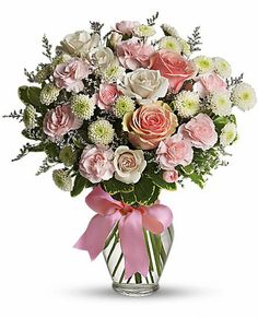 Pink Cotton Candy Flowers, Cotton Candy Flower Bouquet - Teleflora.com