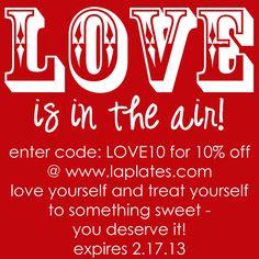 Happy Valentine's Day! #discount