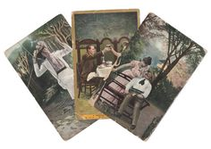 On Etsy - 3 Edwardian Postcards Romantic DB by VintageToAntiquity on Etsy, $1.25