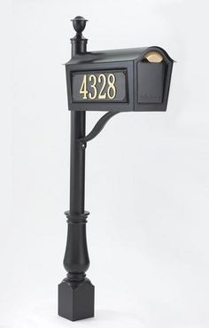 South-Florida-Mailbox-Installer-Whitehall-Chalet-Standard-Black