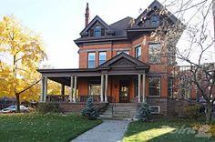 Multi-family Home for sale in 41 Charlton Ave W, Hamilton, Ontario We live here. Looking For Houses, Hamilton Ontario, Multi Family Homes, Real Estate Houses, Land For Sale, Queen Anne, Victorian Homes, Brisbane, Old Houses