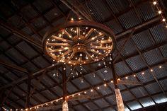 Wooden Wagon Wheel Chandelier : Rushtowar Lighting - Wagon Wheel Chandelier For Western Decor Wooden Wagon Wheels, Wooden Wheel, Homemade Chandelier, Diy Chandelier, Wagon Wheel Chandelier Diy, Wagon Wheel Light, Old Wagons, Western Furniture, Idee Diy