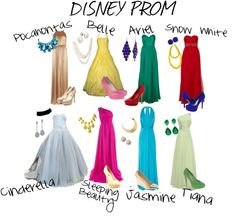 Disney Prom theme!!!! this will be my friends and I this may <3