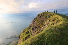 Lovund Norway. We're just south of midnight sun territory but 10 PM hikes are still pretty magical #hiking #camping #outdoors #nature #travel #backpacking #adventure #marmot #outdoor #mountains #photography