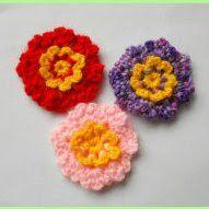 crochet danty flower