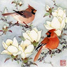 """""""Happy Morning"""" - Original Fine Art for Sale - © Jinghua Gao Dalia"""