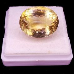 VVS 25.50 CT CERTIFIED FINEST QUALITY UNTREATED RARE HUGE NATURAL GOLDEN CITRINE #gemsindia