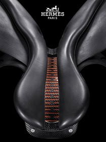 A Hermes saddle. *drools* I want this saddle