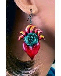 Sacred Heart Earrings II