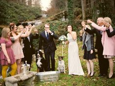 Simple and Intimate Smoky Mountains Wedding