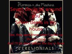 Florence and The Machine- Seven Devils
