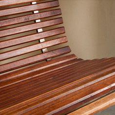 BC LOVES: #GeraldMcCabe custom wall bench, 1966 | #BlackmanCruz