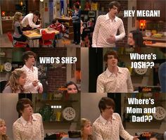 Drake Bell walking on the set of iCarly when they were filming. My life is complete.