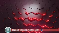 """Ben Watts"" is here again with this very cool cinema 4d asset. This time he is sharing a Hexagonal floor rig. which can be very useful in your projects, and"