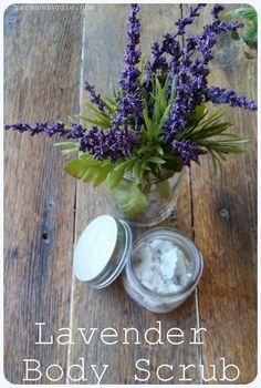 Lavender Body Scrub   Rara & Aggie