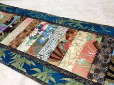 Unique and  Elegant Quilted Table Runner by vschwam on Etsy, $50.00