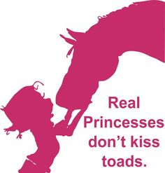 Girl Cowgirl Kiss Horse Animal Princess Car Truck Window Vinyl Decal Sticker #Oracal