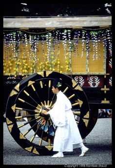 Procession of 'Aoi matsuri' festival in Kyoto