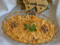 Cevizli Yoğurtlu Havuç Salatası Tarifi