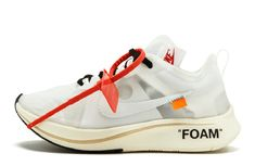 brand new 50bfd de693 The 10  Off-White x Nike Zoom Fly AJ4588-100 White Nike Shoes