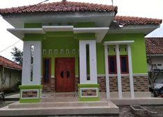 100 Desain Teras Rumah Minimalis Ideas In 2020 House Styles House Design Modern Bungalow House