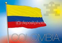 Vector file colombian flag and symbol — Vettoriali Stock © frizio #78421976