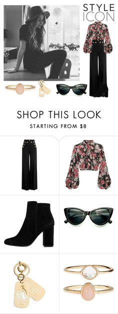 """""""Untitled #110"""" by flowerpower-795 ❤ liked on Polyvore featuring RED Valentino, Jill Stuart, MANGO, Lanvin and Accessorize"""
