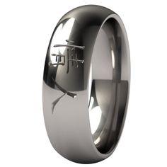 Soulmate Titanium Wedding Ring