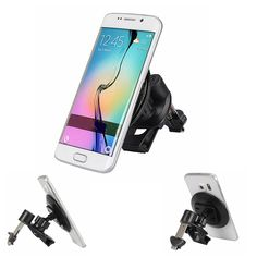 Car Air Vent Mount Phone Holder Stand Sticky Adsorption for iPhone Samsung iPad