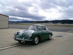 1965 Porsche 356 C Rare Irish Green in Color.