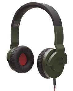 NIXON, Stylus Khaki Headphones
