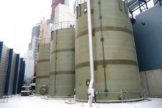 HCl GRP Storage tanks