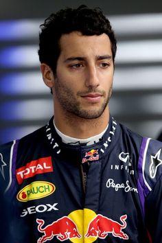 Daniel Ricciardo (there's just something about those Australian F1 drivers...)