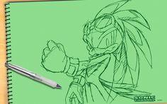 Sonic Channel (Wallpaper)