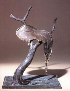 Profile du Temps, 1984    - bronze -  - dimensions unknown -  - private collection -