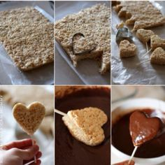 A cute valentines day treat.
