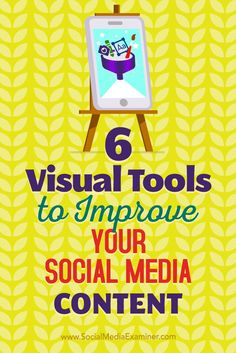 Want to improve your social media images? Visual content is an absolute must for generating engagement on social media, whether its in the form of videos, graphics, or emojis. In this article, youll discover six tools for creating unique, professional