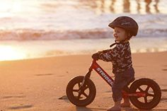 Strider - 12 Sport Balance Bike, Ages 18 Months to 5 Years Best Kids Bike, Bike With Training Wheels, How To Develop Confidence, Push Bikes, Balance Bike, Striders, Bike Reviews, Ride On Toys, Bike Parts
