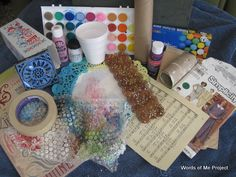 {Words of Me Project}: Art Journaling Ideas