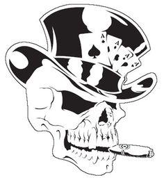 Skull Stencil                                                                                                                                                                                 More