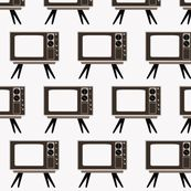 Retro Television by dorolimited, click to purchase fabric