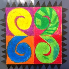 A modern twist on the Maori Koru pattern